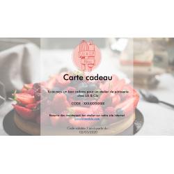 copy of Carte cadeau pour...